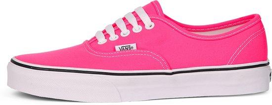 5210fe3e9fb Vans Kids Authentic Neon Pink  White-4