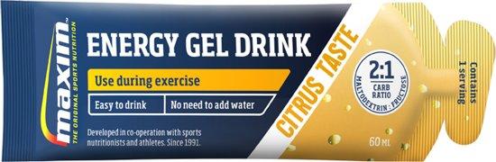 25x Maxim Energy Gel Drink Citrus 60ml