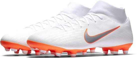 31a59480d Nike Mercurial Vapor Academy DF MG Sportschoenen - Maat 40.5 - Mannen -  wit oranje