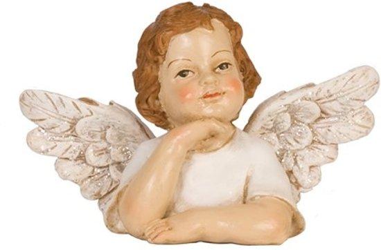 Kussen Wit 12 : Bol.com 6pr0590 engel 12 cm kunststof wit