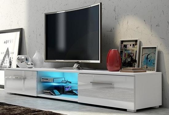 bol tv meubel dressoir edit met led verlichting body wit