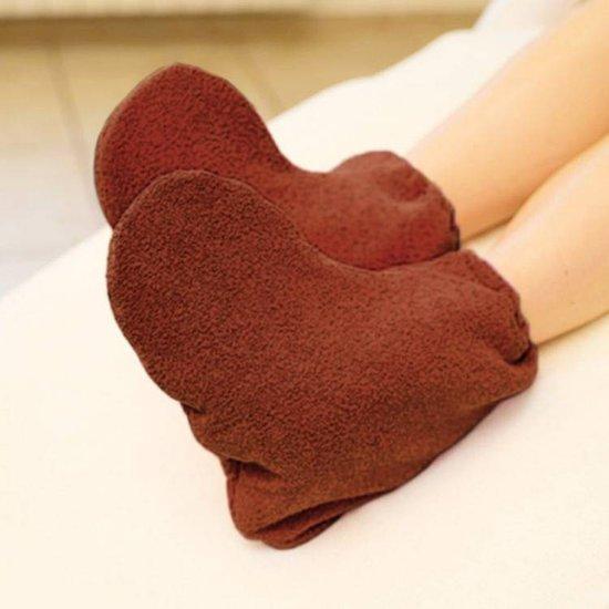 Mega Beauty Shop® Badstof sokken Schoonheidsspecialiste Bruin - badstof