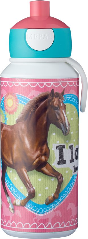 Mepal Campus Drinkfles Pop-up 400 ml - My Horse