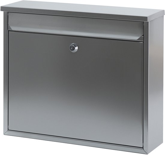 Stalen brievenbus matrvs - 11x36x31,5 cm