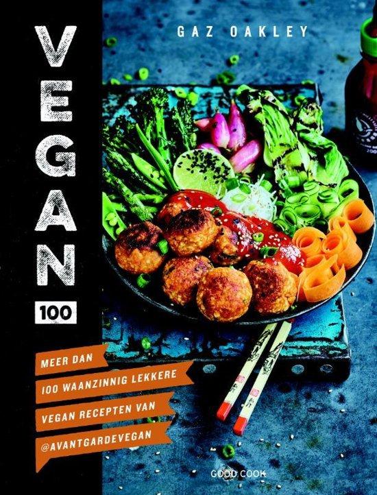 Boekomslag voor Vegan 100