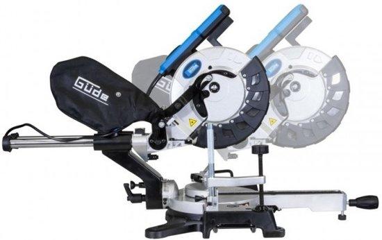 Güde GRK 254 BS laser Radiaal afkortzaag zaagt 98 x 340 mm | 2000 Watt