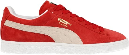 Puma Suede Rood Wit