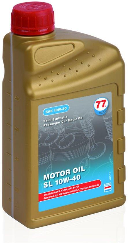 Splinterny bol.com | Motor olie SL 10W40 77 Lubricants, 1 Liter RZ59