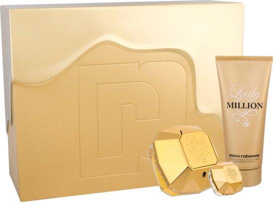Paco Rabanne Lady Million Giftset 185 ml