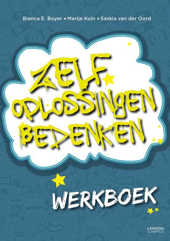 Cover van het boek 'Zelf oplossingen bedenken - Werkboek'
