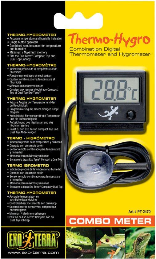 Exo Terra Combometer - Hygrometer