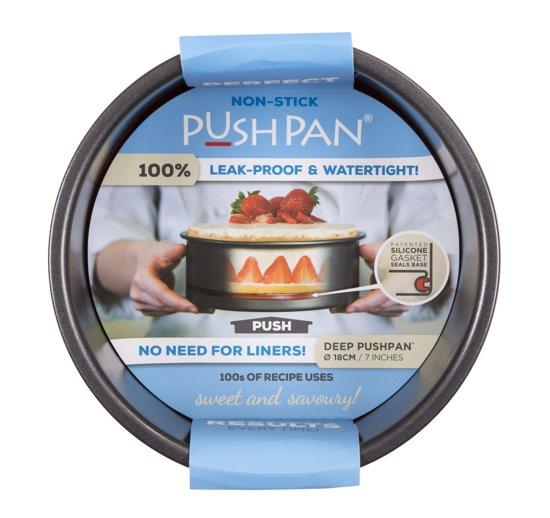 Wham PushPan Springvorm - Aluminium Non-Stick - Rond - Diep - 18 cm