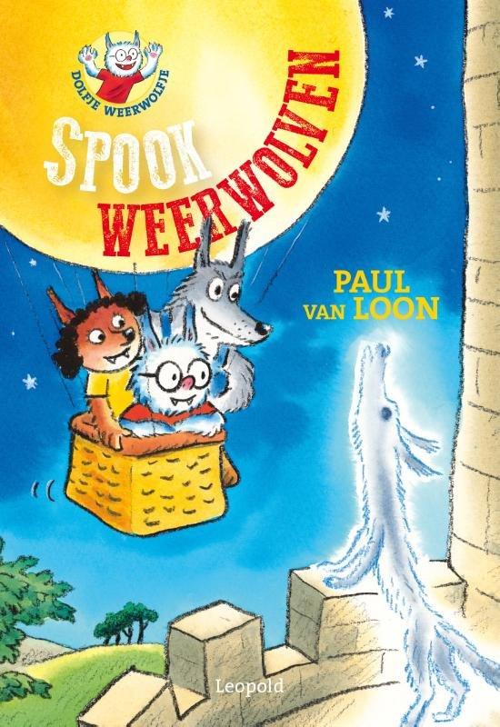 Boek cover Dolfje Weerwolfje 20 - Spookweerwolven van Paul van Loon (Hardcover)