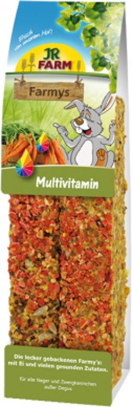 JR Farm - Farmys Multivitamine - 160g - Verpakt per 3 doosjes - Knaagdierensnack
