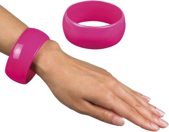 St. Armband Retro roze