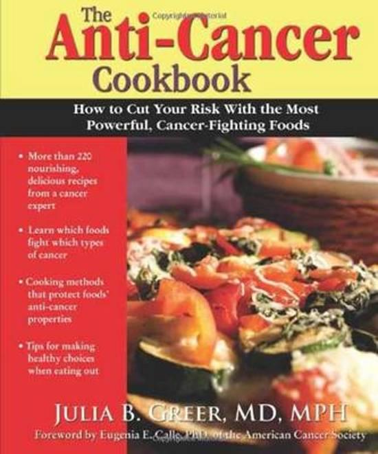Bol Anti Cancer Cookbook Julia B Greer 9780962481499 Boeken