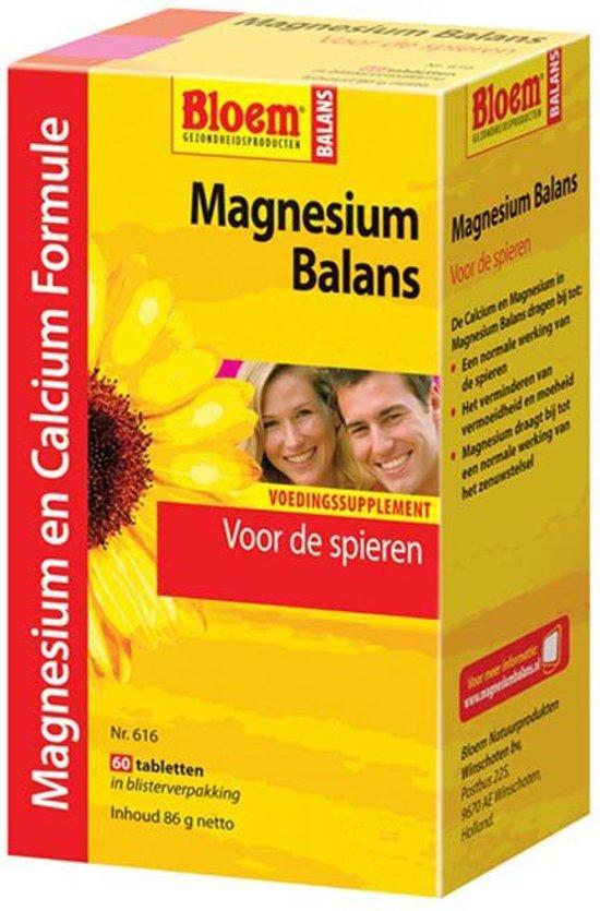 Bloem Magnesium Balans - 60 Tabletten