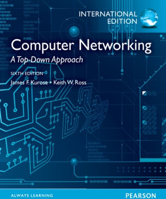 Bolcom Computer Networking A Top Down Approach International