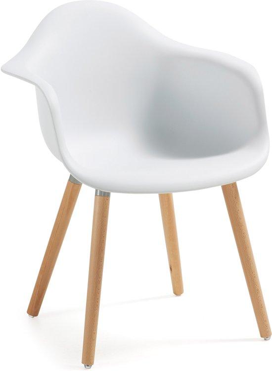 Witte Eetkamer Stoel : Bol kave home kenna stoel wit set van