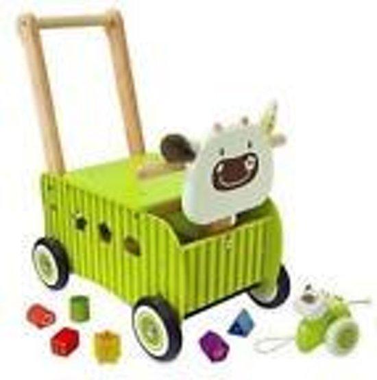 I'm Toy Loop/duwwagen Kalfje - Groen
