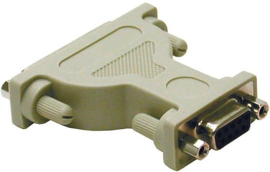 C2G DB9/DB25 Modem Adapter DB9 DB25 Grijs kabeladapter/verloopstukje