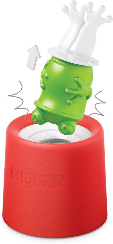 ZOKU Icelolly Pop Maker Rood Kikker
