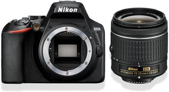Nikon D3500 + AF-P DX 18-55 f/3.5-5.6 (non VR)