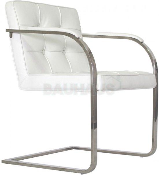 Bauhaus 9 vaks stoel wit for Bauhaus stoel leer