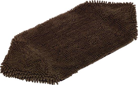 Nobby - Honden handdoek - Bruin - 81 x 35 cm
