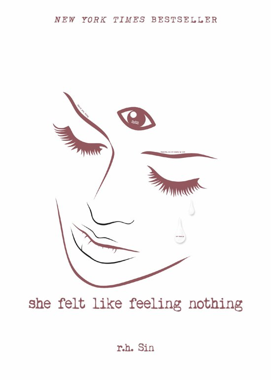 Boek cover She Felt Like Feeling Nothing van r.h. Sin (Onbekend)