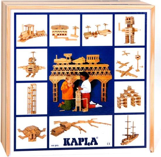 KAPLA Blank - 100 Plankjes