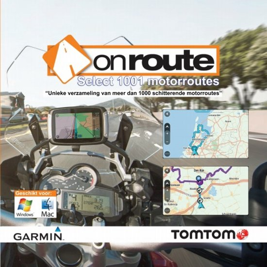 OnRoute Select 1001 Motorroutes in Beselare