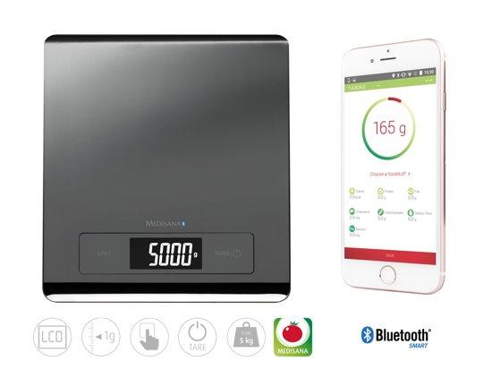 Medisana KS250 Keukenweegschaal met app