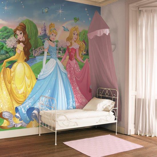 Disney Prinses - Fotobehang - Meerkleurig - 276x254 cm