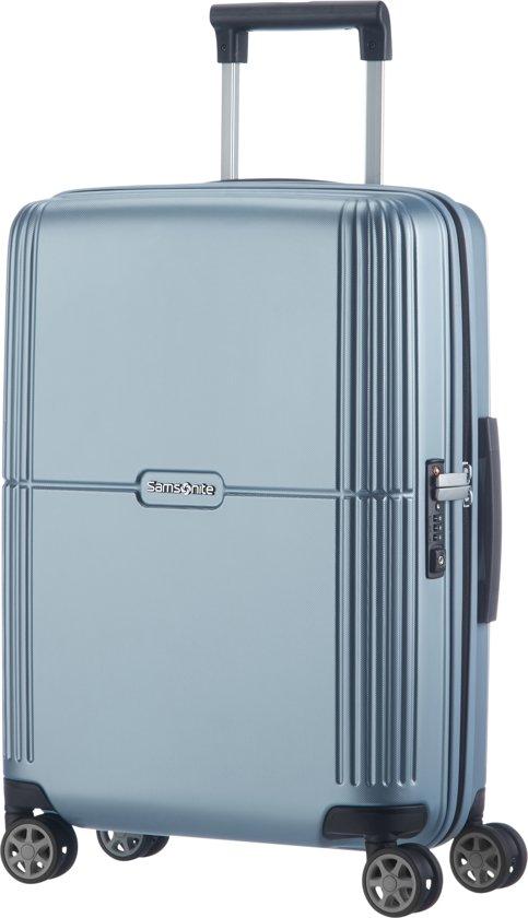 75f047437c3 bol.com | Samsonite reiskoffer - Orfeo Spinner 55/20 (Handbagage)  Zilverkleurig
