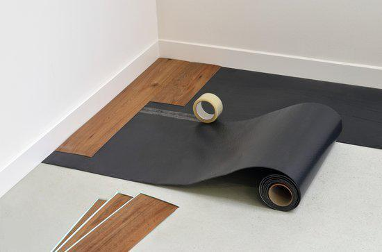 Zelfklevende ondervloer