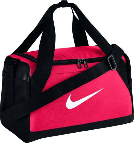 f475253637c bol.com | Nike Brasilia XS Duffel Sporttas Unisex - Rush Pink/Black ...