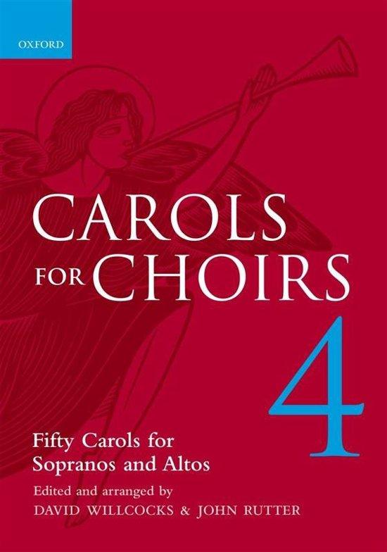 Boek cover Carols for Choirs 4 van Willcocks (Onbekend)