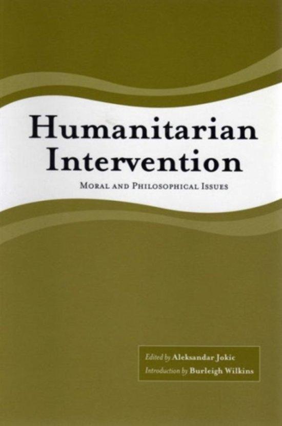 Humanitarian Intervention as Pb