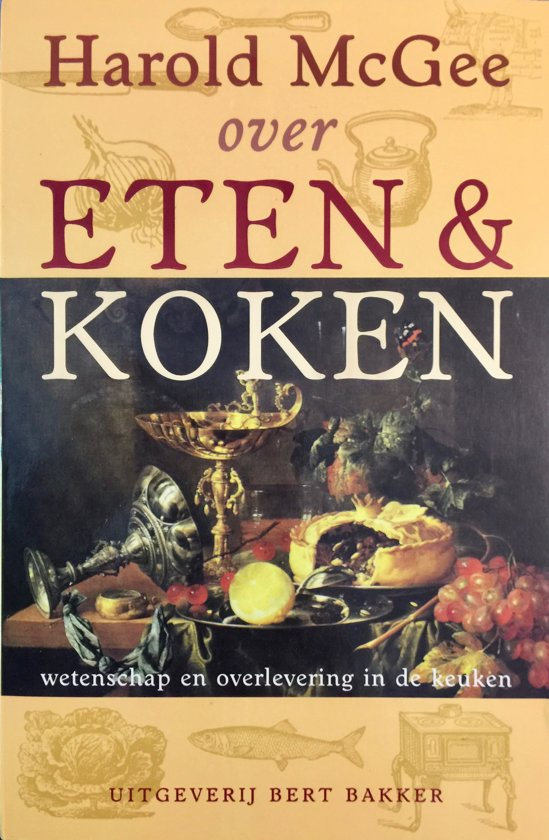 Boek cover Over Eten En Koken van Harold McGee (Onbekend)