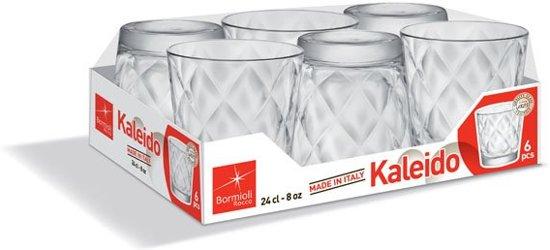 Bormioli Rocco - Kaleido Waterglas 24 cl (6 stuks) Valentinaa