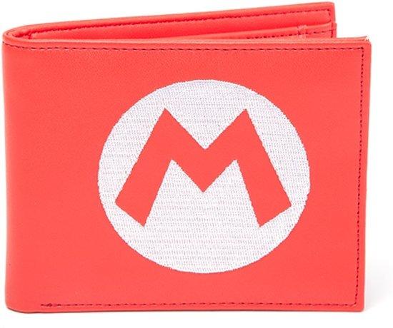 dafa3a49983 bol.com | Nintendo - Super Mario Red Bifold Portemonnee met Symbol ...