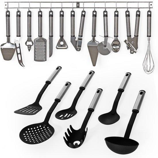 Keuken Accessoires Set : bol.com 19delig keukengerei kookgerei set kook accessoires 401151