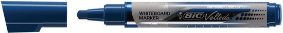 28x Bic Whiteboardmarker Liquid Ink Tank blauw