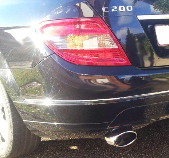 Bol Com Uitlaatsierstuk Mercedes Benz C Klasse W204