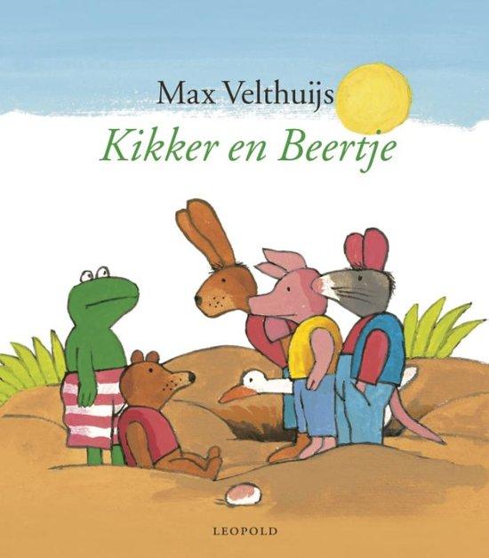 Boek cover Kikker - Kikker en Beertje (omnibus) van Max Velthuijs (Hardcover)