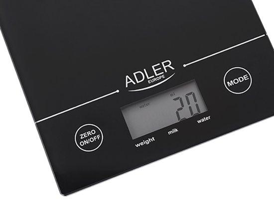 Adler AD 3138 B elektrische keuken weegschaal