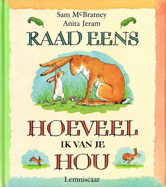 Boek cover Raad Eens...Knuffelboek van Sam McBratney (Hardcover)