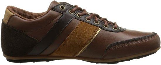 53b320ee5e15 Le Coq Sportif - Heren Sneakers Andelot Syn Lea - Bruin - Maat 40