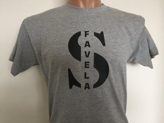 Favelas Shirt Favelas Shirt Grijs S rBoexdC